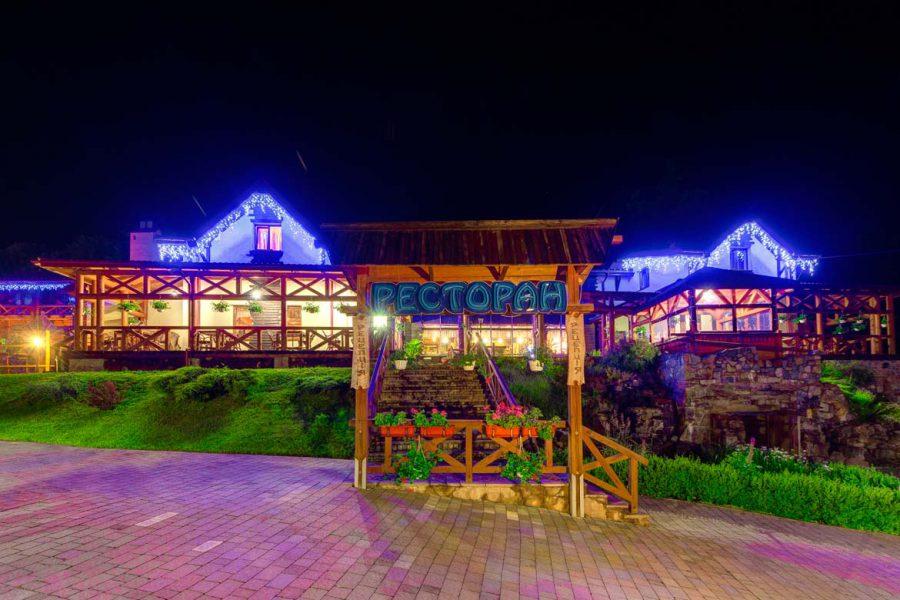 отель с рестораном в горах