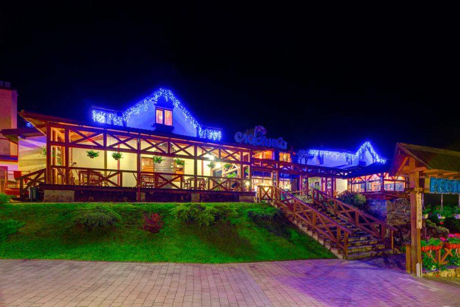 отель с рестораном в карпатах