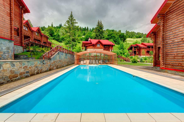 отель в Славском с бассейном