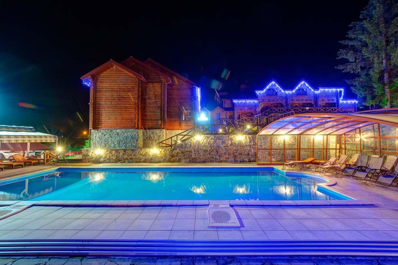 Відпочинок в славську з басейном